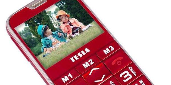 Mobilní telefon Tesla SimplePhone A50 červený (TAMBPSNA50RD)3