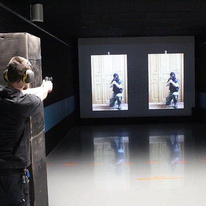 Střelba z krátkých zbraní na 25m střelnici