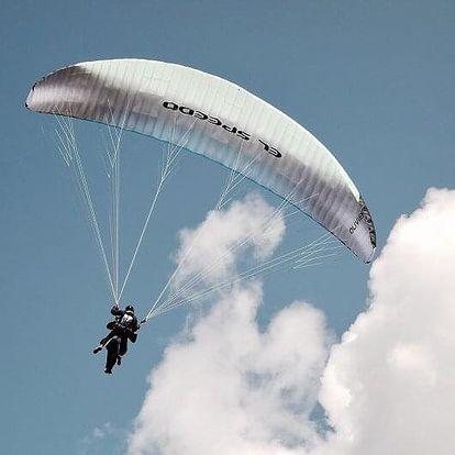 Paragliding – tandemový let Exclusive s videozáznamem