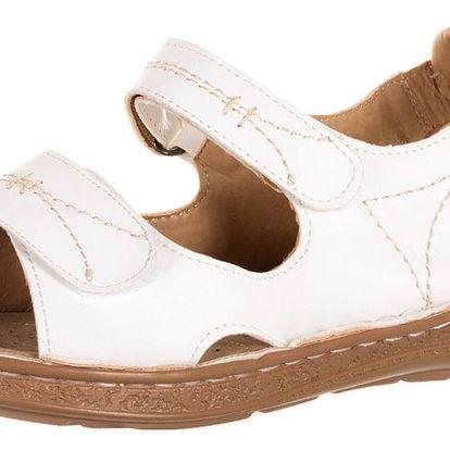 Koka Dámské sandály zdravotní boty na suchý zip