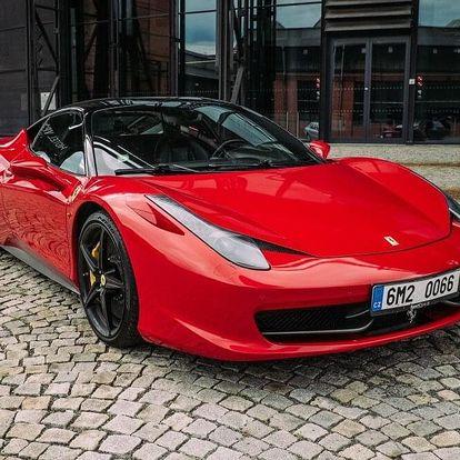 Jízda ve Ferrari 458 Italia - 10 minut