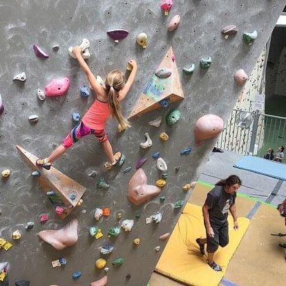 Individuální kurz lezení pro děti