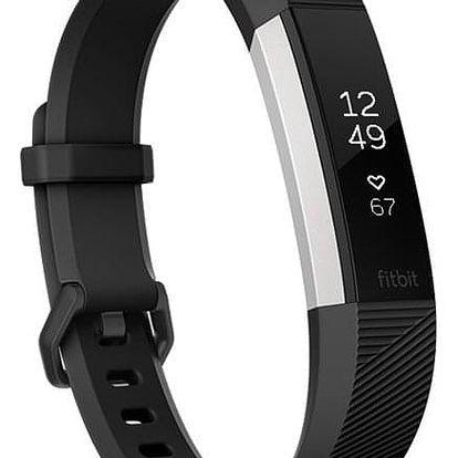Fitness náramek Fitbit Alta HR large - Black (FB408SBKL-EU)