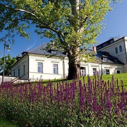 Romantický pobyt na zámku Mcely