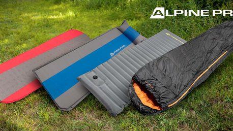 Samonafukovací karimatky a spací pytle Alpine Pro