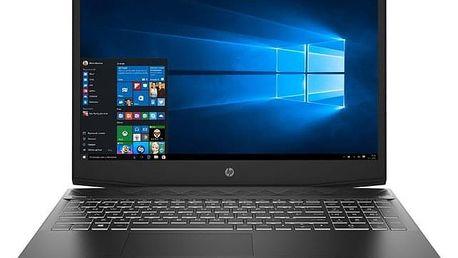 Notebook HP Pavilion Gaming 15-cx0015nc černý (4MV36EA#BCM)