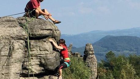 Kurz lezení na skalách