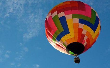 Let balónem standard pro 2 osoby