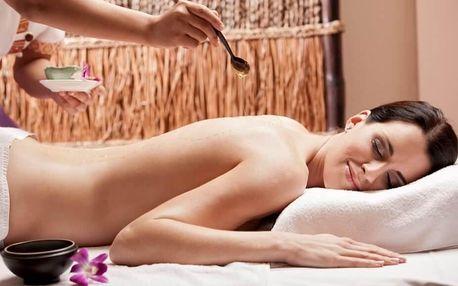 Relaxační medová masáž