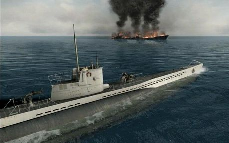 Simulátor ponorky U-BOAT - 60 minut