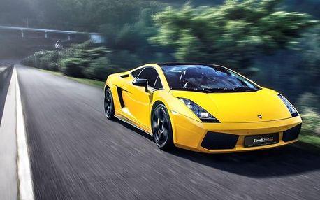 Jízda v Lamborghini Gallardo - 10 minut