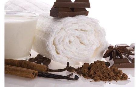 Cukrový peeling s čokoládovou procedurou
