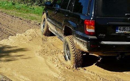 Extreme jízda v Jeepu