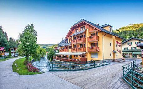 Rakouské Alpy: Sporthotel Dachstein West *** s polopenzí, lázněmi a wellness