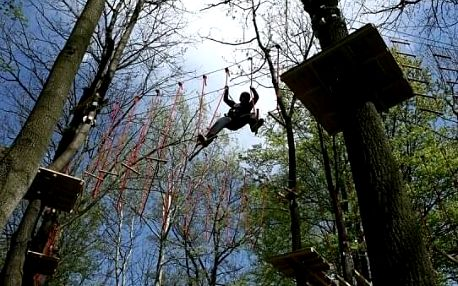 Tarzanem v Šumavských hvozdech pro 2