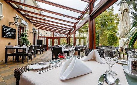 Prvomájová večeře na zámku Chateau St. Havel****