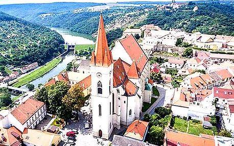 Jižní Morava, Znojmo - pobyt ve vinařské perle pro dva na 3 dny přímo v historickém centru.