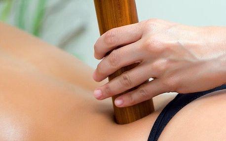 Masáž bambusovými tyčemi