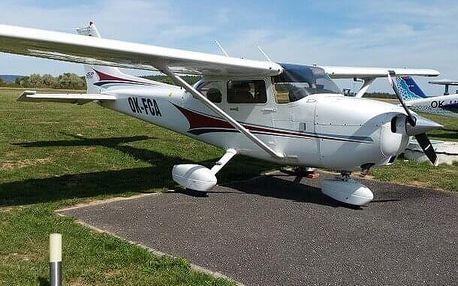 Výlet vyhlídkovým letadlem pro Vás dva