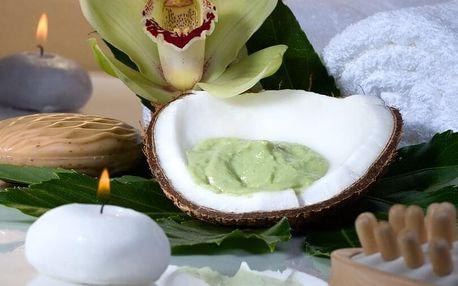Kokosová exotická masáž