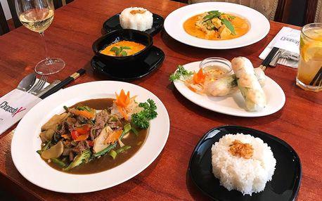 3chodové vietnamské menu dle výběru pro 2