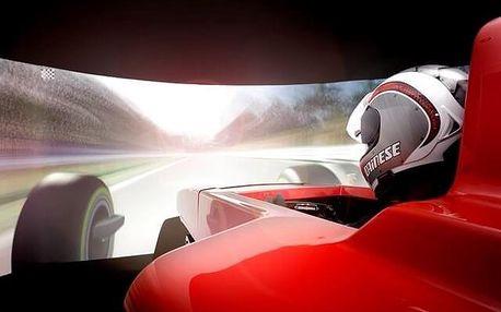 Simulátor Formule 1 - 60 minut