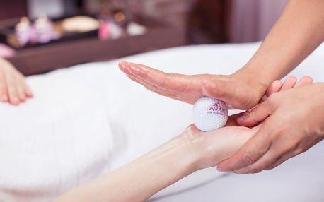 Thajská olejová masáž golfovými míčky