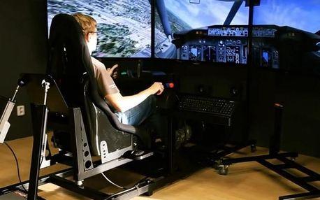 Let na leteckém simulátoru