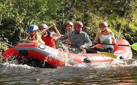 Rafting pro celou rodinu