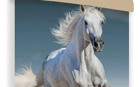 Jerry Fabrics Bavlněné povlečení Horse 03, 140 x 200 cm, 70 x 90 cm