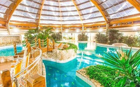 Maďarsko: Gotthard Therme Hotel **** s polopenzí, all inclusive nápoji + lázně