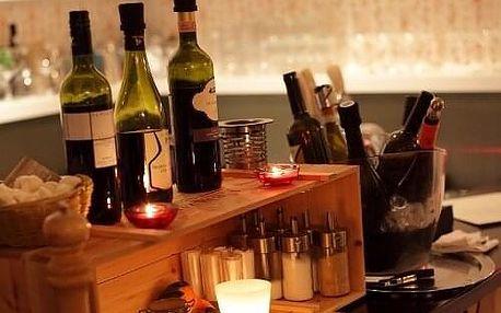 Pravá Itálie – 5chodové menu s lahví vína
