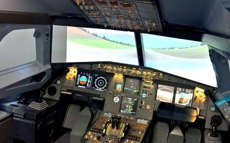 Pilotem Airbusu A320 - 60 minut