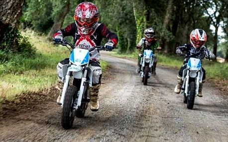 Velký motocyklový zážitek pro děti