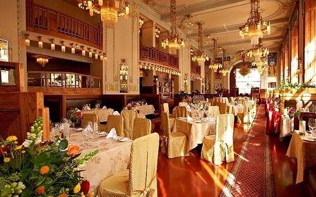 Romantická večeře v Art Nouveau