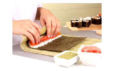 Kurz přípravy sushi pro 4