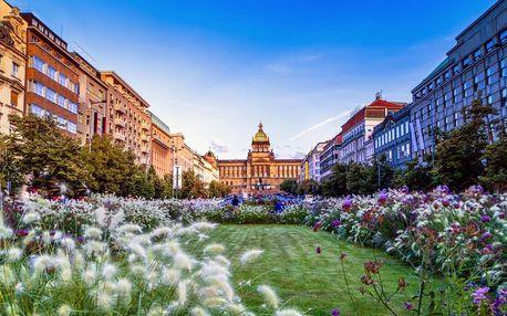 Jarní Praha: pobyt u Václavského náměstí