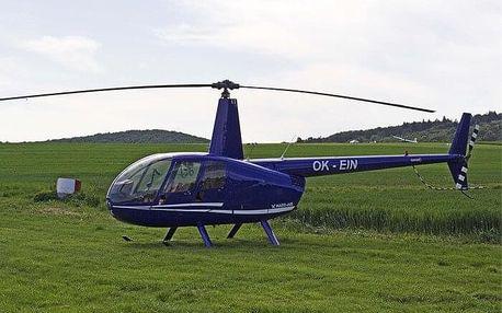 Let vrtulníkem R44 pro 3 osoby