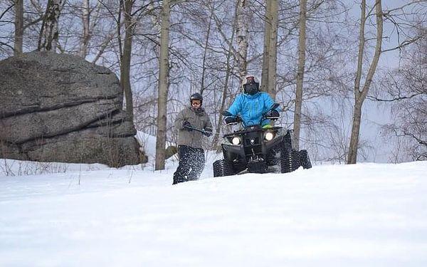 Motoskijöring - adrenalin na lyžích | Smržovka a okolí | listopad – duben dle sněhových podmínek | cca 1 – 1,5 hodiny2