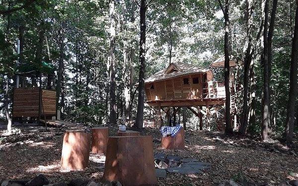 Rodinný pobyt v treehouse | Dolní Morava | celoročně do min.teploty -5 stupňů C | 2 dny/1 noc2