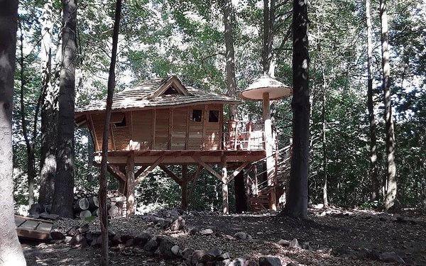 Rodinný pobyt v treehouse | Dolní Morava | celoročně do min.teploty -5 stupňů C | 2 dny/1 noc3