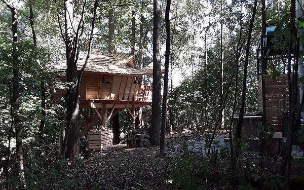 Rodinný pobyt v treehouse | Dolní Morava | celoročně do min.teploty -5 stupňů C | 2 dny/1 noc4