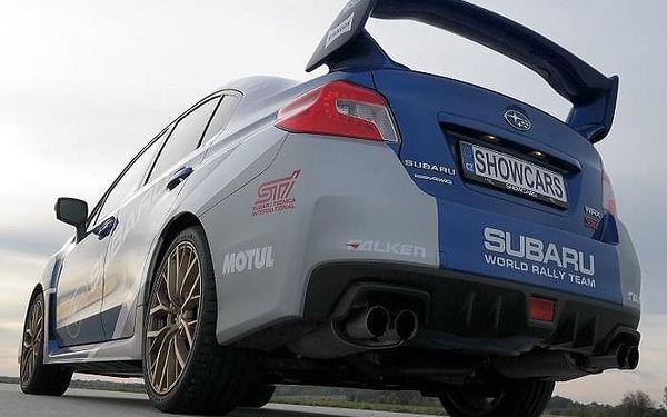 Subaru Impreza - sprint na letišti | Loukov (okr. Mladá Boleslav) | 1. duben - 31. říjen (pátek – pondělí) | 70 minut včetně administrativy a instruktáže.2