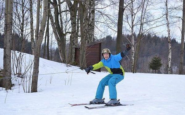Motoskijöring - adrenalin na lyžích | Smržovka a okolí | listopad – duben dle sněhových podmínek | cca 1 – 1,5 hodiny3