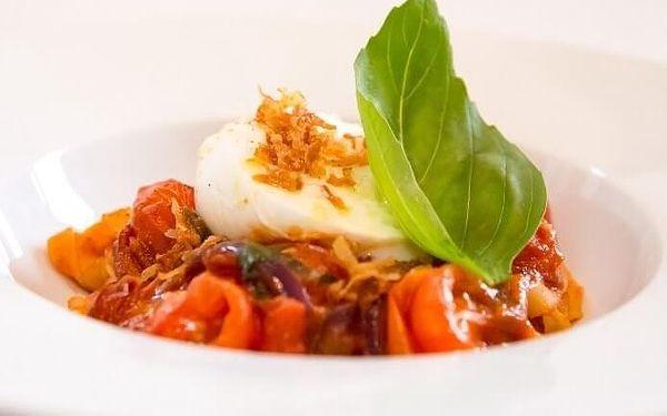 Pravá Itálie – 5chodové degustační menu | Praha | celoročně (NE - ČT v 17:00 a 17:30) | cca 2 hod.3