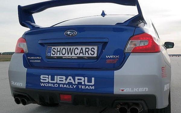 Subaru Impreza - sprint na letišti | Loukov (okr. Mladá Boleslav) | 1. duben - 31. říjen (pátek – pondělí) | 70 minut včetně administrativy a instruktáže.4