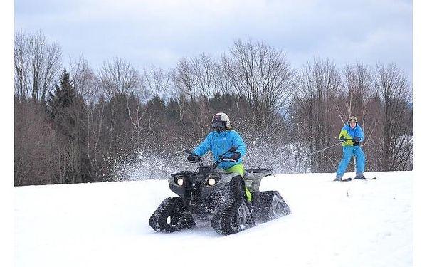 Motoskijöring - adrenalin na lyžích | Smržovka a okolí | listopad – duben dle sněhových podmínek | cca 1 – 1,5 hodiny5