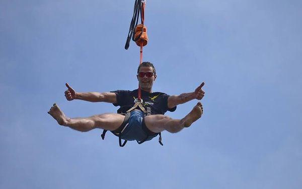 Bungee Extrém v Plzni - seskoky z jeřábu z 50 m