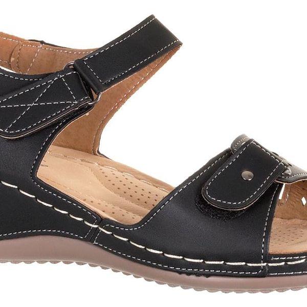 Camo Dámské sandály Fashion se suchými zipy