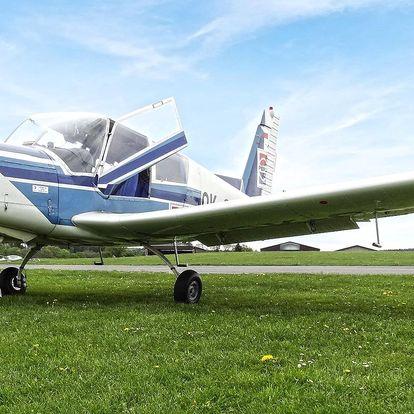 90 nebo 180 minut letu v oblacích až pro 3 osoby